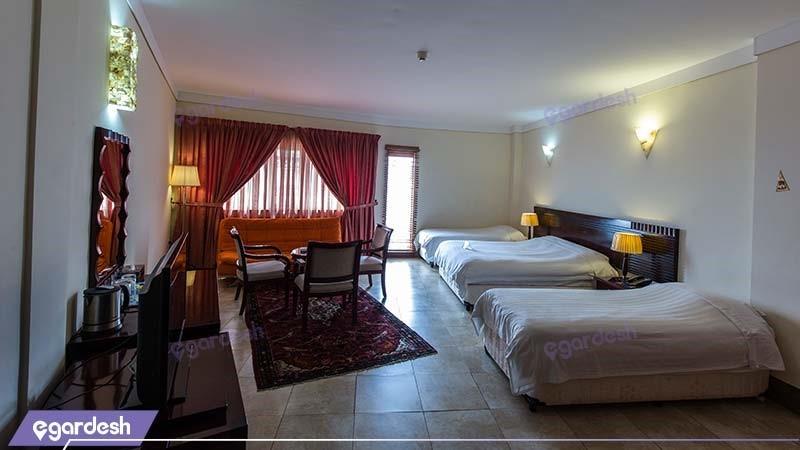 اتاق سه نفره هتل فلامینگو