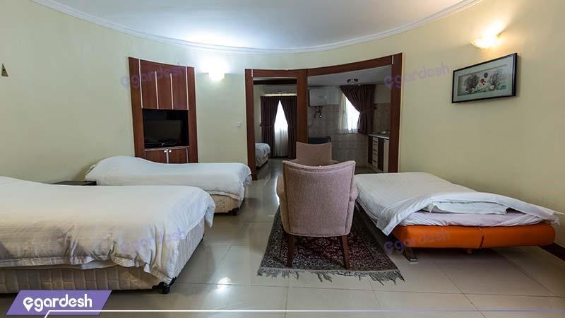 ویلای سه نفره هتل فلامینگو