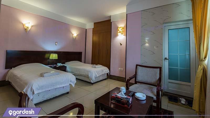 اتاق دو نفره هتل فلامینگو