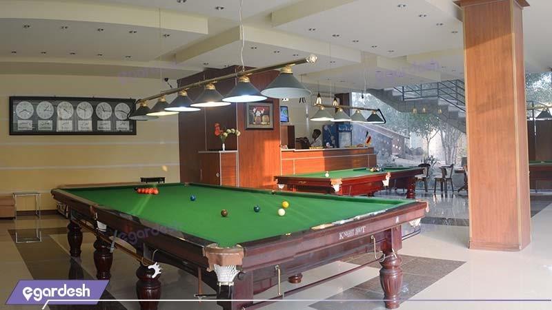 بیلیارد هتل گاردنیا