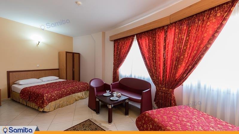 اتاق سه تخته هتل گراند