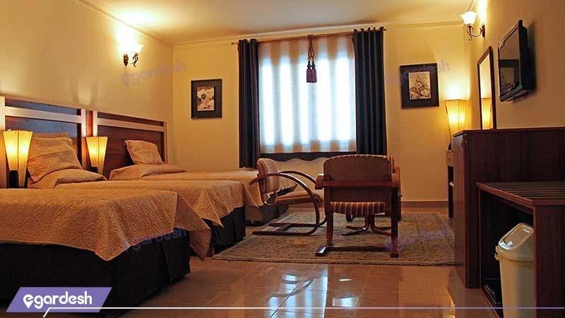 اتاق سه تخته هتل هلیا کیش