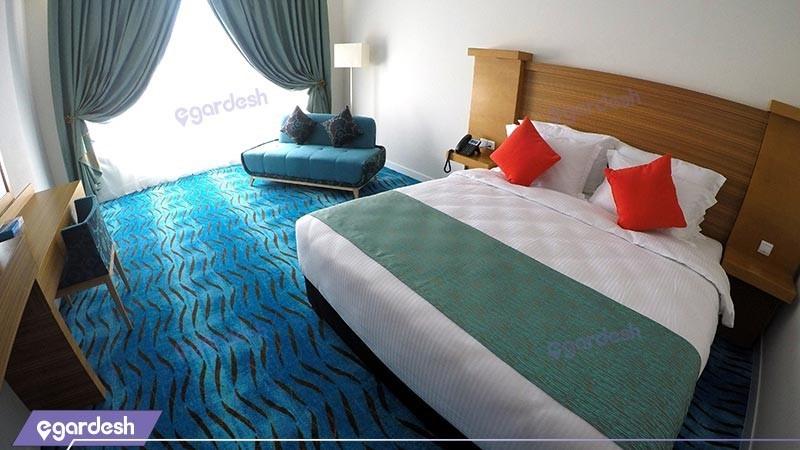 اتاق دو تخته دبل هتل بین المللی کیش