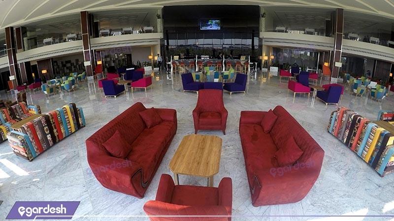 لابی هتل بین المللی کیش