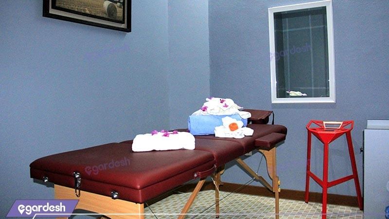 اتاق ماساژ هتل بین المللی کیش