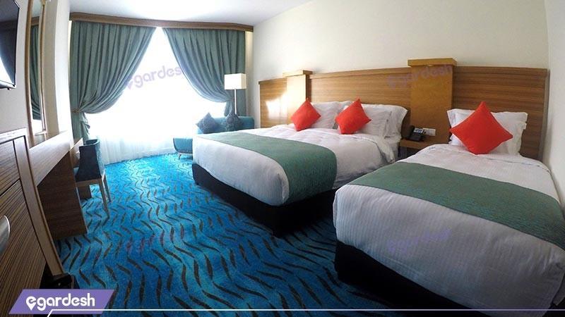 اتاق سه تخته هتل بین المللی کیش