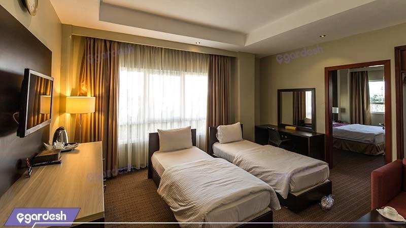 سوئیت چهار نفره هتل ایران کیش