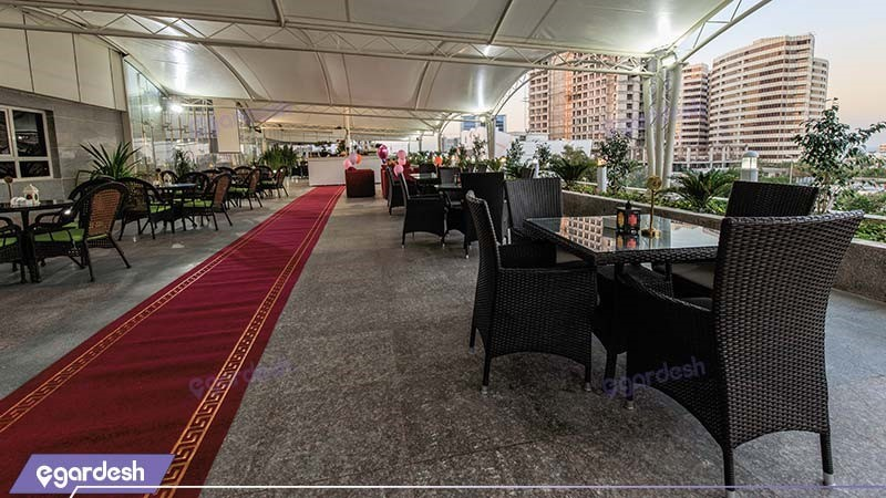 رستوران بام هتل ایران کیش
