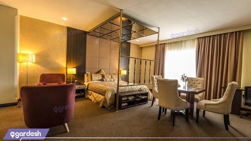 اتاق دبل vip هتل ایران کیش