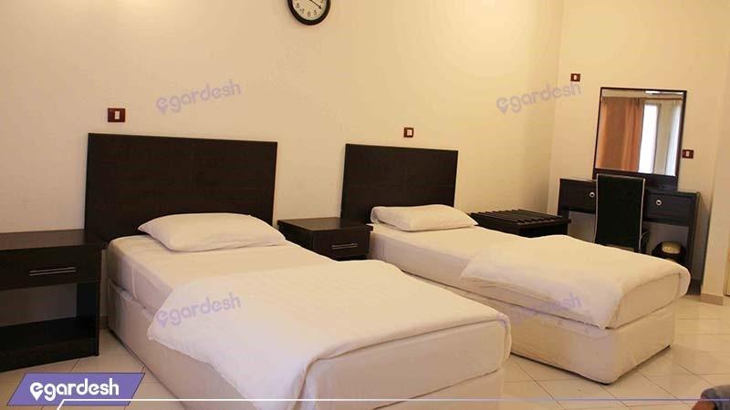 اتاق دو نفره هتل جام جم کیش