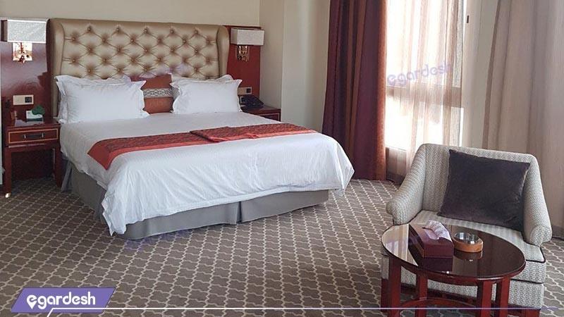 اتاق دو تخته دبل هتل کوروش