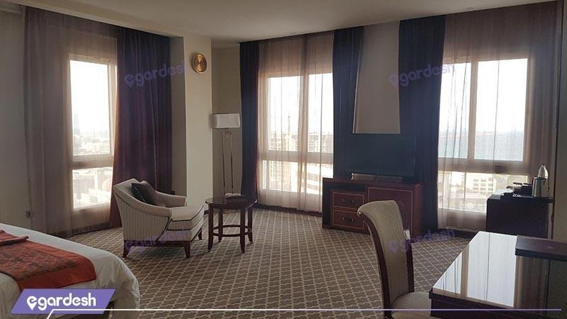 سوئیت یک خوابه هتل کوروش