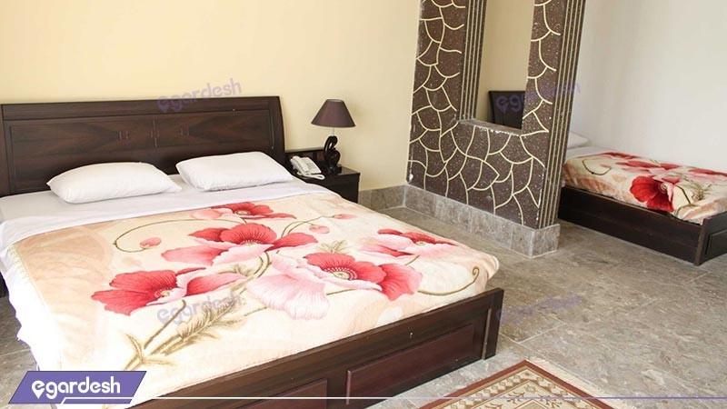 اتاق  دو تخته دبل هتل لوتوس