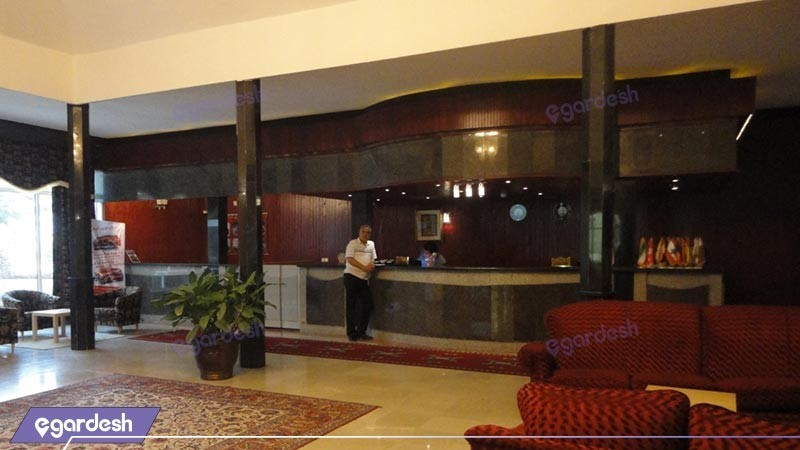 پذیرش هتل لوتوس