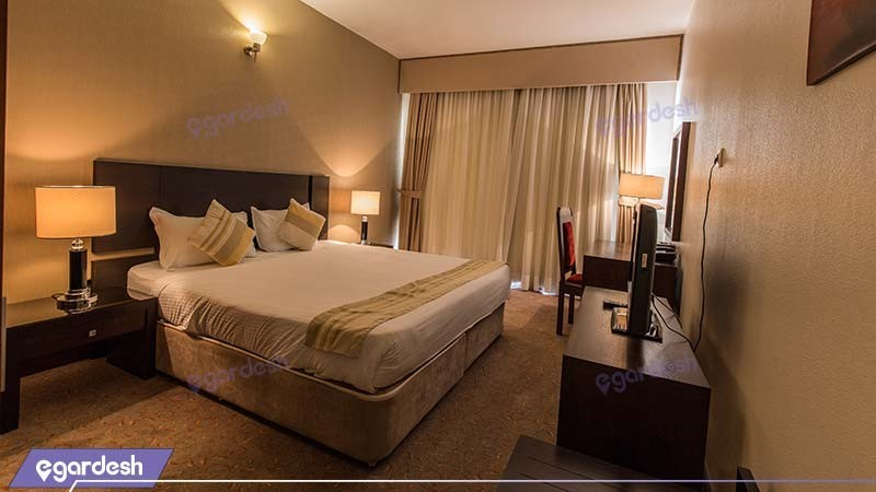 اتاق استاندارد هتل مارینا پارک