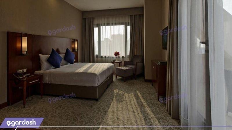 اتاق دوتخته دبل هتل میراژ کیش
