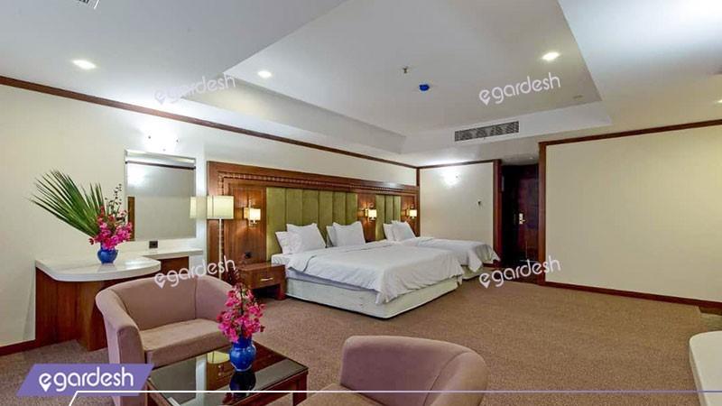اتاق سه تخته لوکس هتل پانوراما