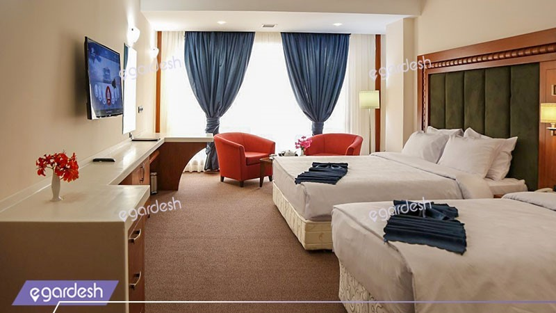 اتاق سه تخته هتل پانوراما