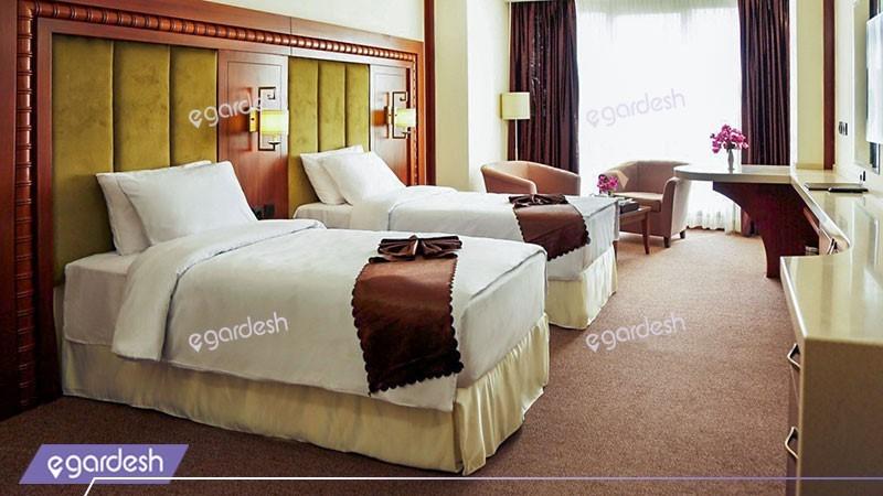 دو تخته توئین هتل پانوراما