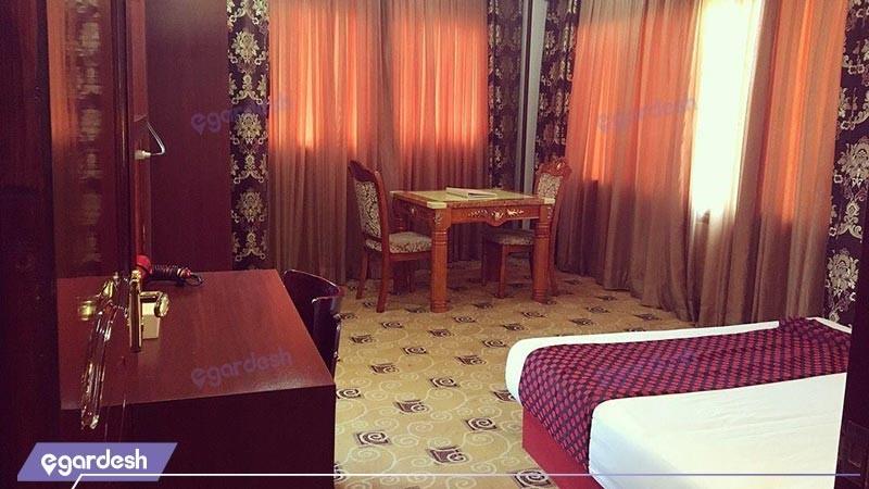 اتاق دو تخته دبل هتل پارمیدا