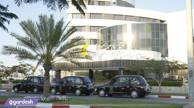 نمای ساختمان هتل پارمیدا