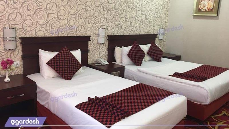 اتاق دو تخته توئین هتل پارمیدا