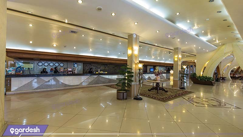 پذیرش هتل پارمیس