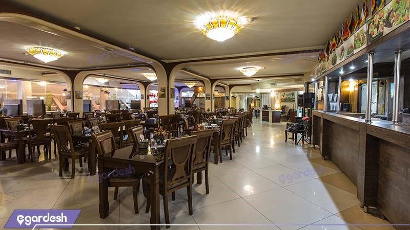 رستوران هتل پارمیس