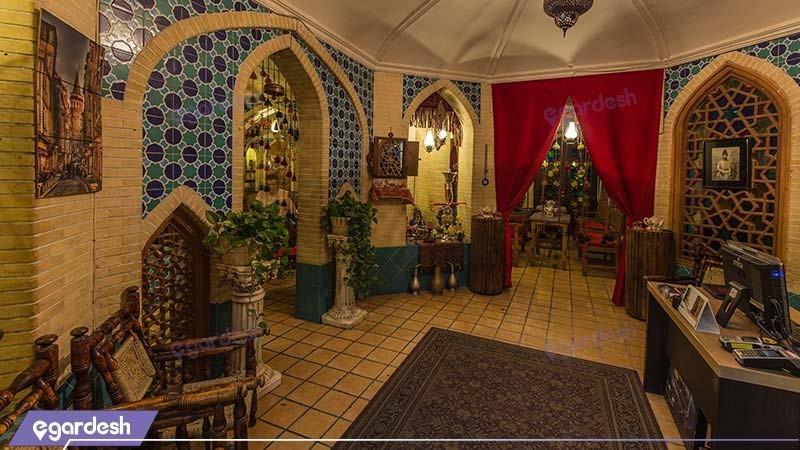 کافه سنتی هتل پارمیس