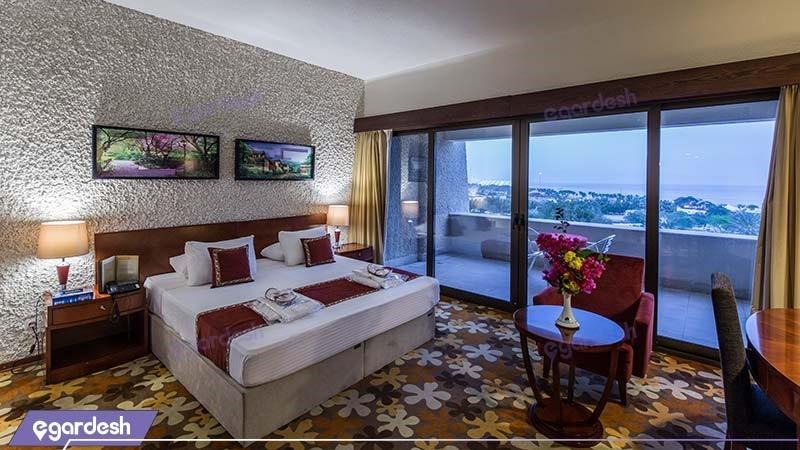 اتاق دبل رو به دریا هتل شایان