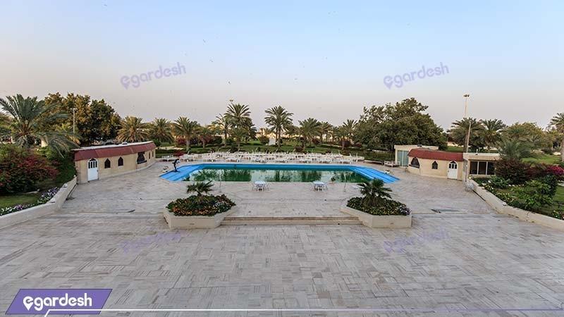 فضای سبز هتل شایان