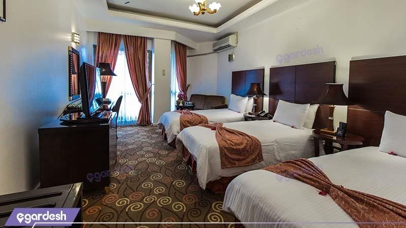 اتاق سه تخته هتل شایگان