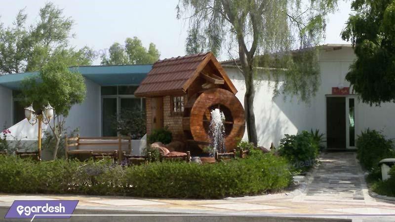 محوطه هتل سیمرغ کیش