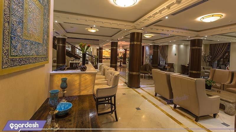 لابی لانژ هتل سورینت مریم