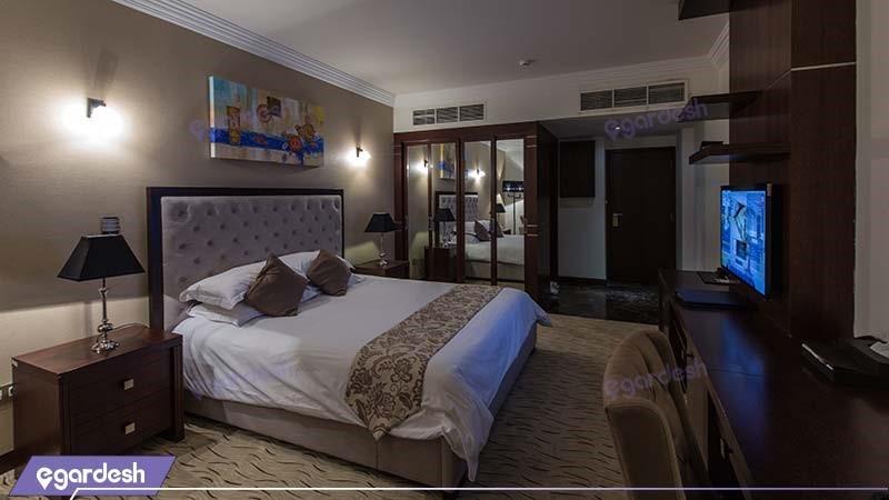 اتاق دبل استاندارد هتل سورینت مریم