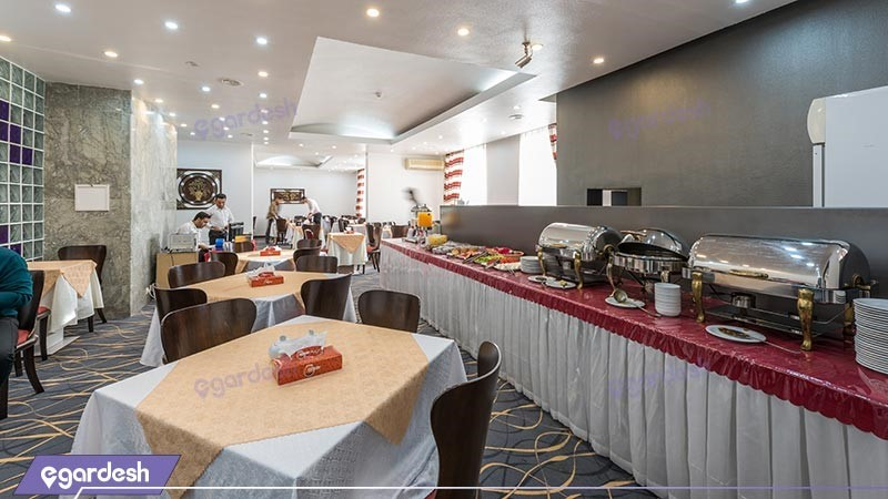 رستوران هتل سان رایز
