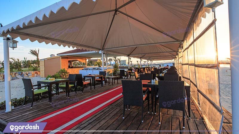 رستوران ساحلی هتل دریایی ترنج