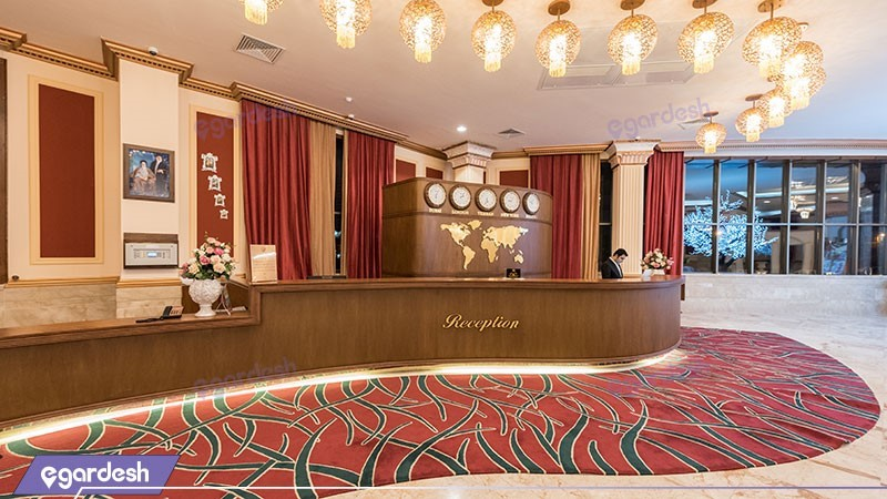 پذیرش هتل ویدا