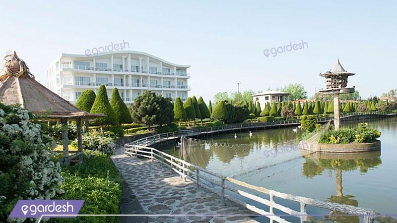 نمای ساختمان هتل ستاره دریا
