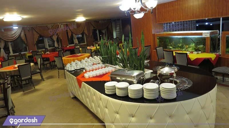 رستوران هتل جهانگردی آبگرم محلات