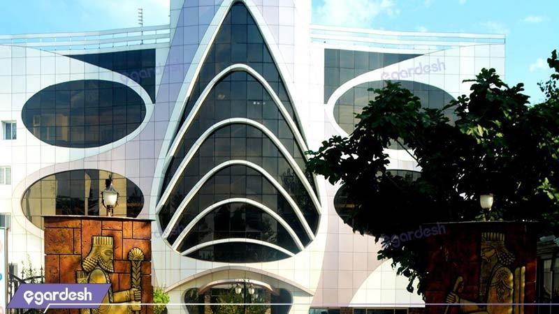 نمای ساختمان هتل ماهان