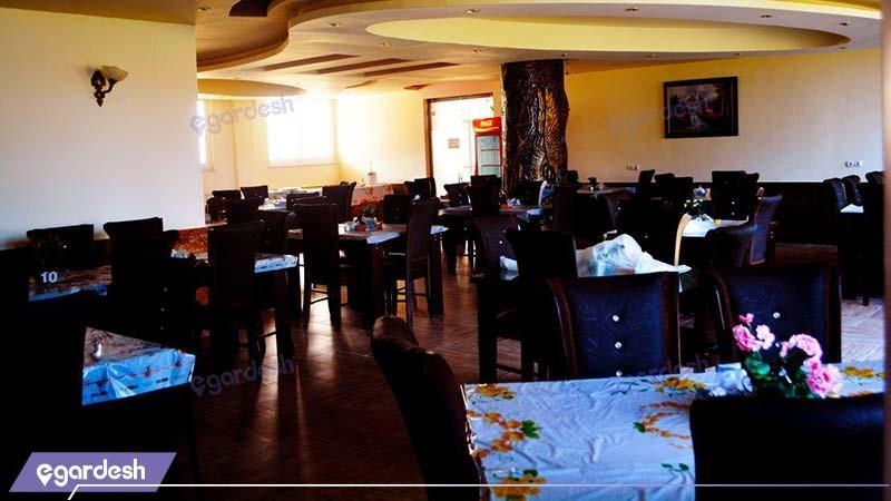 رستوران هتل ماهان
