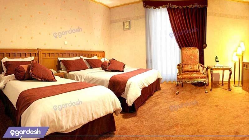 اتاق دو تخته هتل آبان