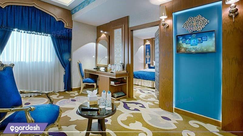 سوئیت یک خوابه هتل الماس دو