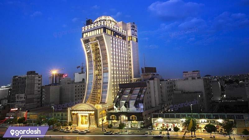 نمای ساختمان هتل الماس دو