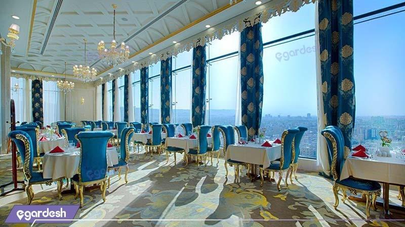رستوران فیروزه هتل الماس دو