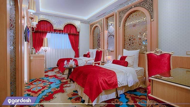 اتاق دو تخته هتل الماس دو