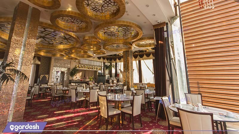 سالن صبحانه خوری هتل الماس مشهد