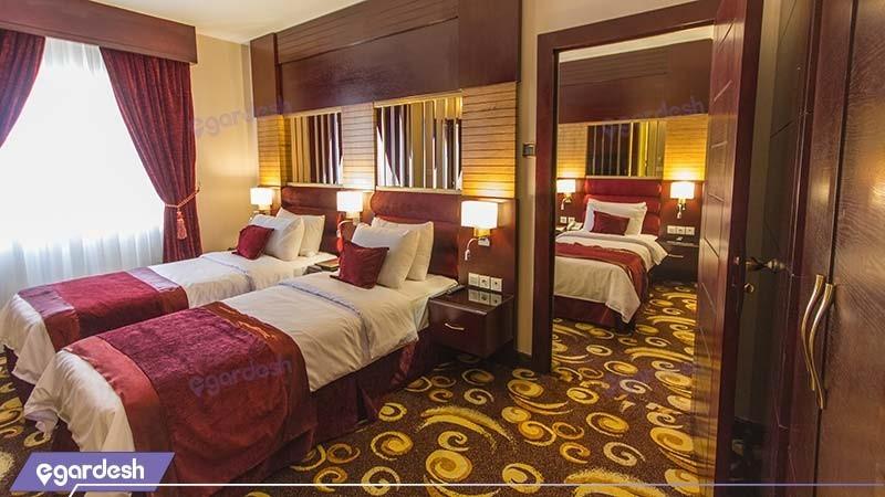 اتاق کانکت پنج نفره هتل الماس