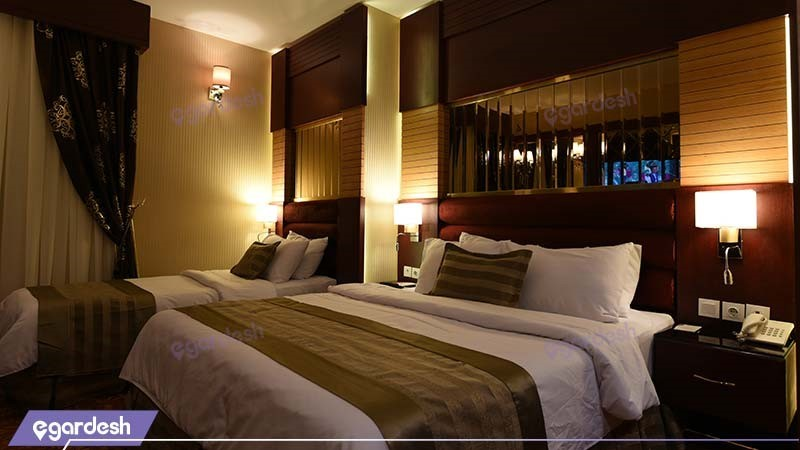 اتاق سه تخته رویال هتل الماس